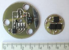 Модуль управления LED фонаря для дайвинга.
