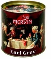 Чай Mervin Черный Бергамот BOP1* средний лист 200 грам