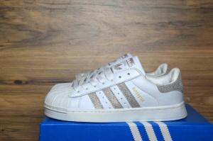 Adidas Superstar White Silver (36-40)