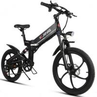 Электровелосипед KJING - черный