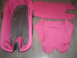 Люлька stokke v3 pink