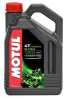 10W30 4L MOTUL 5100 4T 10W-30 Масло Синтетика Technosynthese® Мото масло Motul В наличии Бердянск