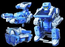 Робот-трансформер на солнечной батарее 3в1