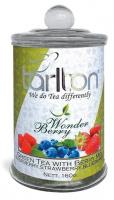 Чай зеленый Тарлтон Волшебная Ягода 160 г стекло банка Tarlton Wonder Berry tea