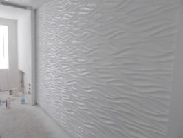 Облицовка поверхностей гипсовым декоративным камнем и панелями в Днепре (Днепропетровске)