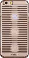 Чехол бампер Maxco iPhone 6 Plus/ 6S Plus Stripe gold