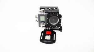 Action Camera A1 WiFi 4K + Пульт 2 дисплея (Экшн камера)