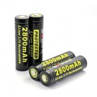 Аккумулятор Soshine 18650 Li-Ion 2800 mAh (Samsung ICR18650-28A) защищенный