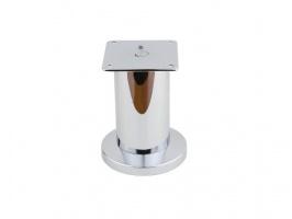 Нога металл NL-12 (104) d 50 H-100 хром G2