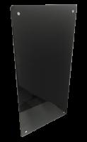 Нагревательная стеклокерамическая панель Evolution HGlass IGH 6012 1000 Вт черная белая
