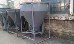 Бункер,емкость,бадья для бетона, раствора 1,5 м3