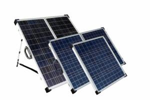 Портативный солнечный комплект для туризма SLP130F-12S