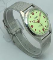 Мужские механические винтажные часы Oris швейцарские 80s.02 38 мм