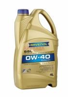 Моторное масло RAVENOL SSL SAE 0W-40 (канистра 4 л)