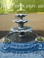 Форма для фонтана «Жемчужина»