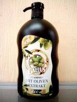 Шампунь Gallus для сухих и повреждённых волос (оливка), 1л