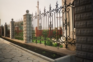 Забор кованый цена в Луцке