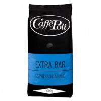 Caffe Poli Extra Bar 1000 г кофе в зернах