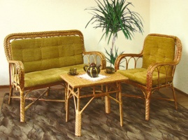Комплект мебели из лозы ДО8 и КО8