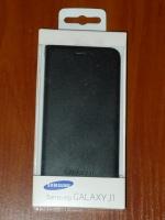 Чехол книжка Samsung J100 EF-FJ100BBEGRU Black