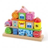 Набор кубиков «Город», Viga toys (50043)
