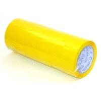 Скотч упаковочный желтый 200