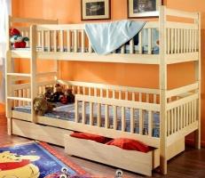 Детская двухъярусная кровать «Бук 6»
