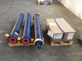 Гідроциліндр на полуприцеп для самосвала 6-7 метрів, 5 штоків. Різних типів кріплень. Edbro, Penta, Hyva, Binotto.