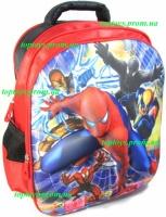 Рюкзак с 3D рисунком для Мальчика школьный Человек Паук (Spider man). Объёмное изображение