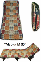 Раскладушка Мария М - 30 с матрасом