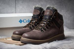Зимние ботинки на меху Columbia Chinook Boot WP, коричневые (30571),  [  43 44 45  ]
