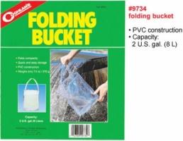Ведро складное пластиковое 8 литров - Coghlan's Folding Bucket