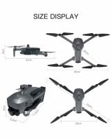 Квадрокоптер SG906 Max PRO 3 + Кейс GPS 3-x осевая стабилизация Wi-Fi FPV 4K Камера дистанция 1500м 26 минут