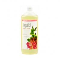 Sodasan 7616 Органическое мыло Роза-Оливка жидкое, тонизирующее (без дозатора), 1000 мл