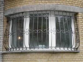 Решетка металлическая из квадрата 14мм