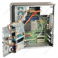 4-х ядерный компьютер Fujitsu-Siemens Celsius W370 Core2 Quad 2.33GHz Radeon