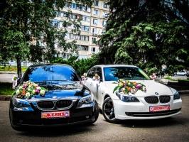 АРЕНДА МАШИН С ВОДИТЕЛЕМ НА СВАДЬБУ BMW 520i в Харькове
