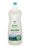 Green Organic натуральный гель для мытья посуды с пробиотиками безопасный без химии защищает от инфекций