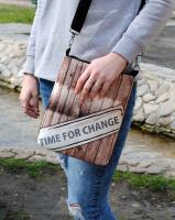 Сумка через плечо «Time for change»