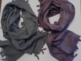 Шарфы, шали, палантины из мохера, шерсти, ангоры.