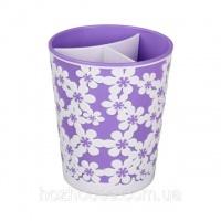Подставка для столовых приборов фиолетовый «Дольче вита» Альтернатива