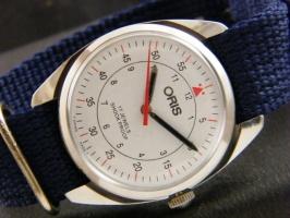 Мужские механические винтажные часы Oris швейцарские 70s.04 37 мм