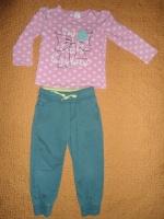 Комплект для девочки на 2 года 92 см. ЦЕНА: 115 грн. Штаны проданы