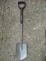 Лопата телескопическая штыковая FISKAR (131300)