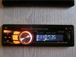 Pioneer 1078U (USB, SD, FM, AUX, ПУЛЬТ)