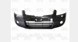 Бампер передний + отверстия под омыватель на  Nissan Qashqai (Ниссан Кашкай)