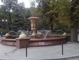 Очистка гранитных и мраморных фонтанов