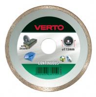 Диск Verto алмазный для плитки со сплошной кромкой 230 мм