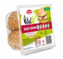 Безглютеновая булочка VitalFit темная Superfoods с семенами (веганская)