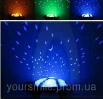 Музыкальная черепаха ночник проектор
